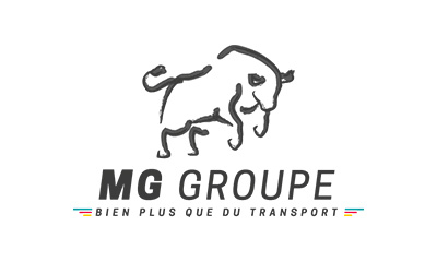 Logo MG Groupe transport