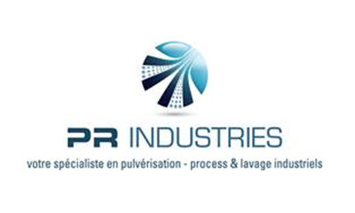 Logo PR Industries pulverisation industriel